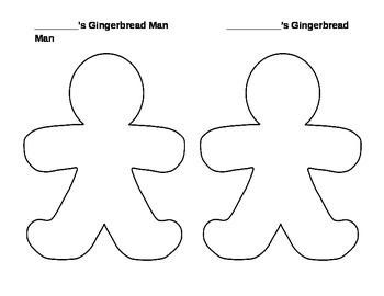 Gingerbread Man Match Mine