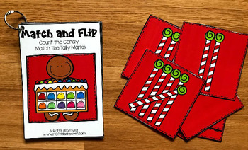 Gingerbread Man Match and Flip Books