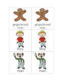 Gingerbread Man Matching Game