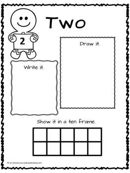 Gingerbread Man Math Activities