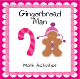 Gingerbread Man Math Activities