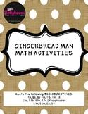 Gingerbread Man Math Activities-Teaching Strategies