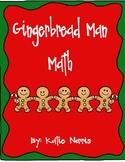 Gingerbread Man Math Center Activities