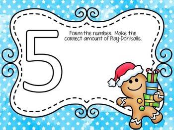 Gingerbread Man Math Centers