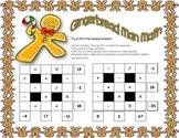 Gingerbread Man Math ~ Christmas Theme Math Square Pair