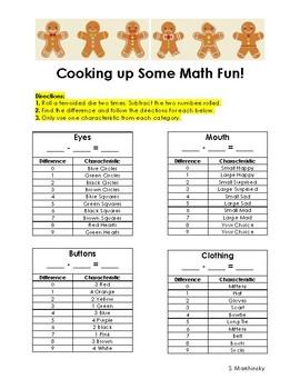Gingerbread Man Math Fun