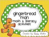 Gingerbread Man: Math & Literacy Packet