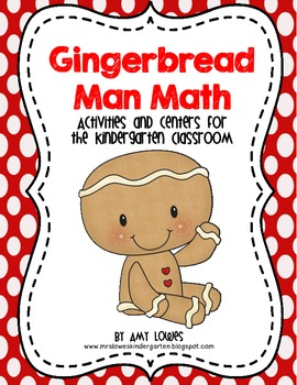 Gingerbread Man Math Mini-Unit