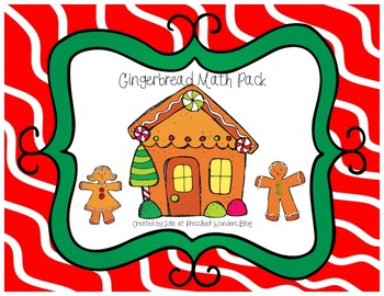 Gingerbread Man Math Pack