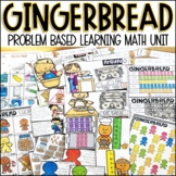 Gingerbread Man PBL Math Project