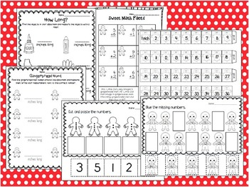 Gingerbread Man Math and Literacy Activities