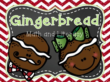 Gingerbread Man: Math and Literacy Activities