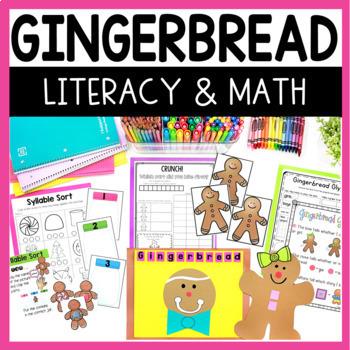 Gingerbread Man Math and Literacy Fun