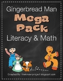 Gingerbread Man Math and Literacy Mega Pack