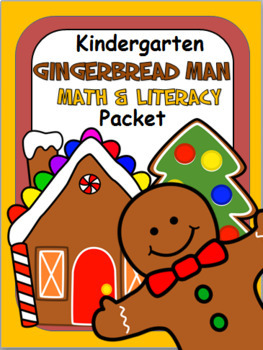 Gingerbread Man Math and Literacy Packet