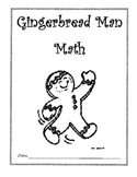 Gingerbread Man Math- measuring/graphing/more