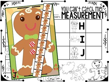 Gingerbread Man Measurement
