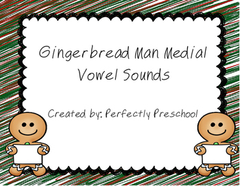 Gingerbread Man Medial Vowel Sort
