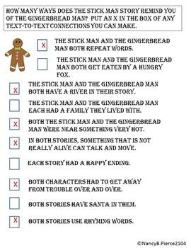Gingerbread Man, Meet Stick Man!