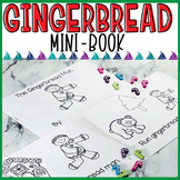 Gingerbread Man Mini Book
