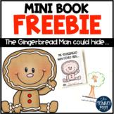 Gingerbread Man Mini-Book FREEBIE