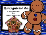 Gingerbread Man Mini Literacy Unit for Primary Learners