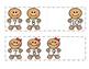 Gingerbread Man Missing Numbers 0-10