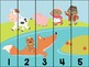 Gingerbread Man Number Puzzles
