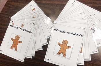 Gingerbread Man 'ON' Book