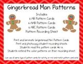 Gingerbread Man Patterns