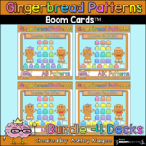 Gingerbread Man Patterns - Boom Card Bundle - Digital Dist