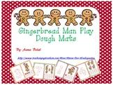 Gingerbread Man Play Dough Mats