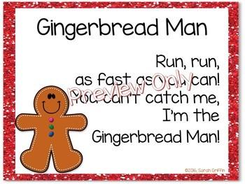 Build a Poem ~ Gingerbread Man