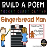 Build a Poem ~ Gingerbread Man