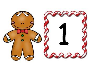 Gingerbread Man Pre K Math Activities Bundle