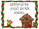 Gingerbread Man Pre-K and Kindergarten Math and Literacy Activities