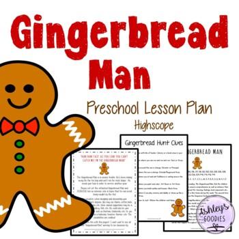 Gingerbread Man Preschool Lesson Plan (Highscope)
