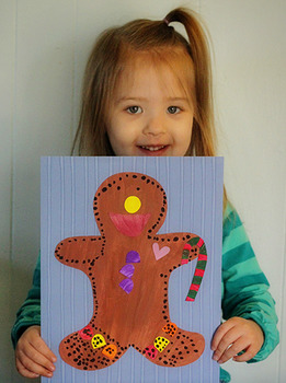 Gingerbread Man Printable Craftivity Template