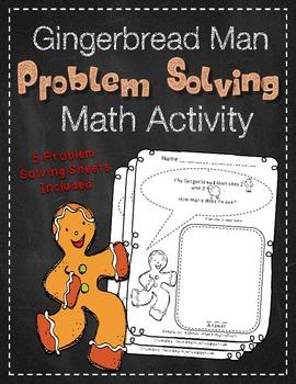 Gingerbread Man Problem Solving