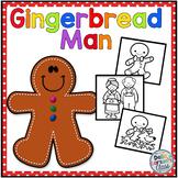 Gingerbread Man Re-Tell ART Activity