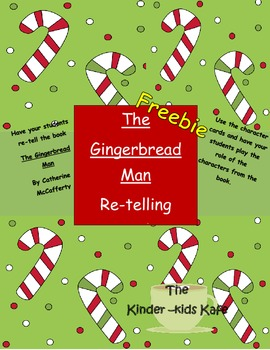 Gingerbread Man Re-telling Cards