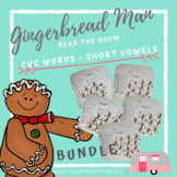 Gingerbread Man Read the Room Literacy Center **Bundle**