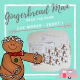 Gingerbread Man Read the Room_CVC Words (Short i words)