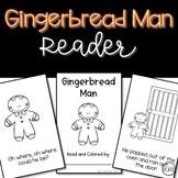 Gingerbread Man Reader