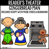 Gingerbread Man Reader's Theater INCLUDES Script and Headbands