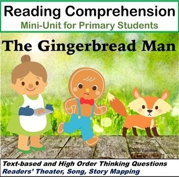 Gingerbread Man - Reading Comprehension Unit by Ms Joanne ...