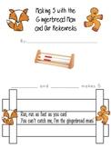 Gingerbread Man Rekenrek activity to 5