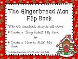 Gingerbread Man Retell Flip Book