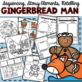 Gingerbread Man Sequencing Retelling
