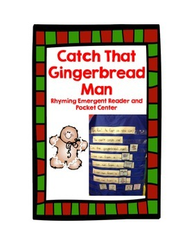 Gingerbread Man Rhyme Emergent Reader